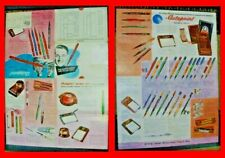 Vintage Autopoint Lot of A Mechanical Pencil & A 1952 Advertising Brochure -Rare