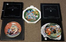 3 Looney Tunes Collector Plates