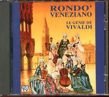 RONDO' VENEZIANO - LE GENIE DE VIVALDI - FRENCH CD ALBUM [526]