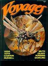 VOYAGES volume 1 Vess Toth Chaykin Muth (1983) Nautilus Dreams SC fanzine VG+