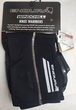 ENDURA Windchill Thermolite Cycling Knee Warmers TEFLON - Black/Red, S/M