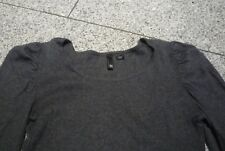 süsses Kleid Pulloverkleid Gr.36 grau mit Angora Divided H&M