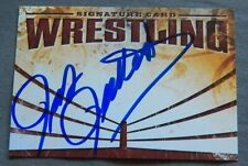 WWE HOF Pat Patterson aka Pierre Clermont Signed Wrestling Autograph Card Auto