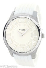 Guess Women's White Silicone Watch W14547G1