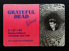 Grateful Dead Backstage Pass James Dean Movie Photo Nassau New York NY 3/27/1994