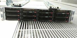 Supermicro SuperServer 6027TR-H71RF 4x Blade E5-2620 V2 16GB/node NO-HDD