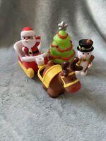 Elc Happyland Christmas Figure Set - Santa Sleigh Reindeer & Snowman