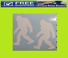 (2) BIGFOOT SASQUATCH YETI VINYL DECAL STICKER WINDOW BUMPER CAR North West