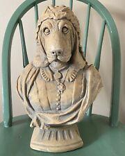 Vintage Queen Victoria Her Royal Houndness Barkingham Sculpture Bust