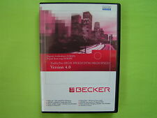 CD NAVIGATION BECKER TRAFFIC PRO DTM HIGHSPEED 4.0 EUROPA VW AUDI BMW MERCEDES