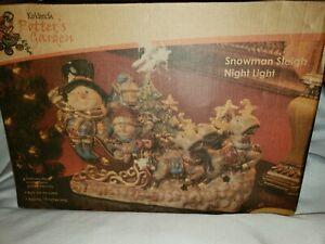 Kirkland Snowmen Sleigh with Reindeer