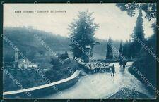Firenze Borgo San Lorenzo Ronta Pecore PIEGA cartolina KF2696