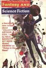 F & SF Sept 1971 - Neal Barrett, Jr., Kit Reed, Michael Bishop, Arthur Jean Cox