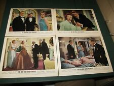 ORIGINAL UK LOBBY CARDS SET OF 4 THE MAN WHO LOVED REDHEADS 1955 MIORA SHEARER