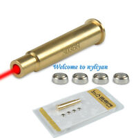 303BR Visible Red Laser Sight Bore Sight Brass BoreSighter with Battery hunting