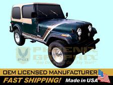 1980 Jeep Golden Hawk CJ5 CJ7 Decals Stripes Kit