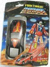 Vintage Transformers FUNCTIONAL ROBOT CAR DIE-CAST METAL NIB RARE
