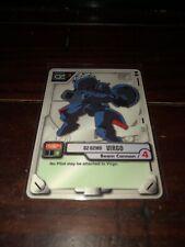 2001 Gundam MS War Trading Card Game Virgo Beam Cannon  #MS-024