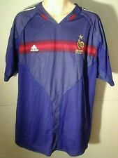 Adidas France Mens Vintage Soccer Jersey Footbal Club FFF #3 Season ClimaCool XL