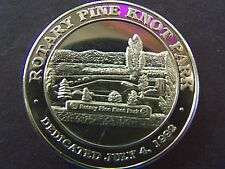 1994 BIG BEAR LAKE ROTARY CLUB BRONZE HR COMMEMORATIVE COLLECTORS DOLLAR