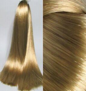 HONEY BLONDE Saran Doll Hair for Custom Reroots