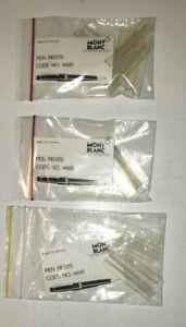 MONTBLANC PEN RESTS SET OF 15 per Package DEALER NOS MADE IN WEST GERMANY