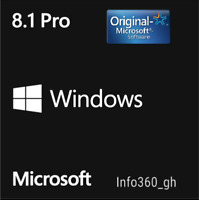 8.1 PRO Win- KEY/CLAVE LICENCIA/LICENCE 100% ORIGINAL 32/64 Multilenguaje