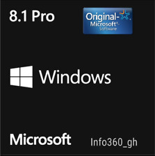 8.1 PRO Win- KEY/CLAVE LICENCIA/LICENSE 100% ORIGINAL 32/64 Multilenguaje