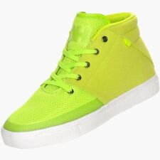 Android Homme Men's Modern Mid Ultra Light Sneakers Black / Green Size 7.5-13