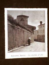 Vendita Collezione Roberto Soria nel 1931 Scopinich Stradina di Giuseppe Abbati