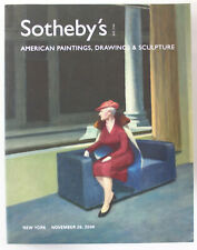 Sotheby's Auction Catalog: American Paintings, Drawings & Sculpture - Nov. 2006