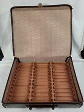 Vintage Service Mug 36 Cassette Tape Case Holder Storage Plastic Travel Case