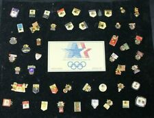 Vintage 1984 Los Angeles Olympics Collectible Pin Lot Advertising Sponsors Pin
