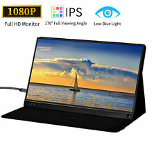 15.6 Inch Type-C Portable Monitor Screen IPS 1920x1080 For Laptop PS4 Xbox360 US