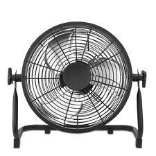 Ventilatore da Pavimento Portatile con Ricarica in Metallo