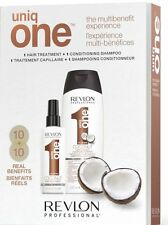 Uniq One Coco : Hair Treatment All in1 150ML + Conditioning Shampoo 300ML RevloN