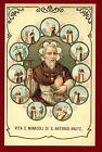 SANTINO Vita e Miracoli di S.ANTONIO ABATE IMAGE PIEUSE - HOLY CARD-