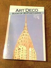 "Art Deco ""Book of 30 Postcards"" Magna Books (Euredition bv) 1990"