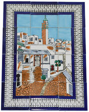 Fliesenbild Keramikfliesen Orient Handbemalt Wandfliesen Mediterran Mosaik 12 07