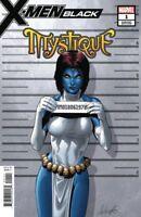 X-Men Black Mystique #1 (Larroca Mugshot Variant)