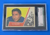 1963 TOPPS JIM NEILSON  HOCKEY CARD #50 ~ SGC 80 (6) ~