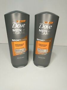 2 Dove Men + Care Sport Care ENDURANCE + COMFORT Hydrating Body and Face Wash