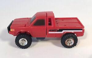 Vintage Bandai Small Foot Tonka Gobots Transformers Truck 1980's
