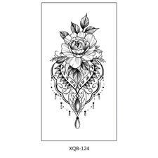 Blumen Tattoo Henna Design Fake Tattoo XQB124