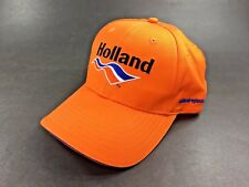 Holland™ ~ Logo Baseball Cap Hat ~ Adjustable ~ VERY GOOD