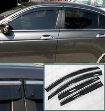 for Honda Accord  4D Window Vent Visors Sun Rain Wind Deflectors 08 09 10 11 12
