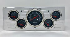 1940 Chevy Car 5  Gauge Dash Cluster Black