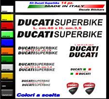 Adesivi Ducati Superbike kit 14 stickers per carene serbatoio e codone