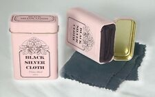 Magic silver cleaning cloth - in a tin. Make your Silver sparkle