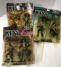 Action Figures KISS Gene Chris Peter Psycho Circus Old in Packages NEW